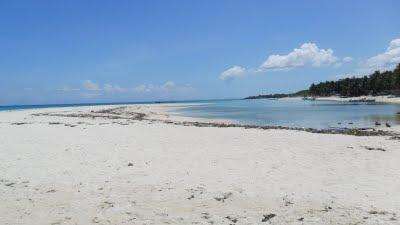 Sand Bar Bantayan Island