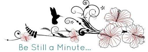 Be Still a Minute...