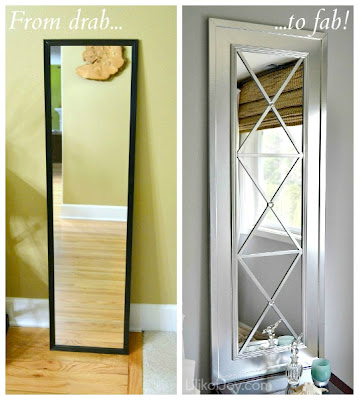 http://www.lilikoijoy.com/2013/02/upcycle-door-mirror-from-drab-to-fab.html
