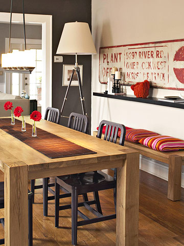 Small space big style for Dining area for small spaces
