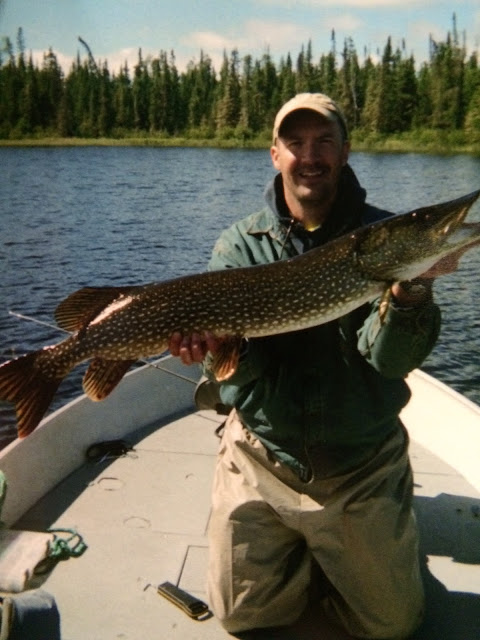 Red Lake Ontario Canada fishing report biggest ever trophy huge giant