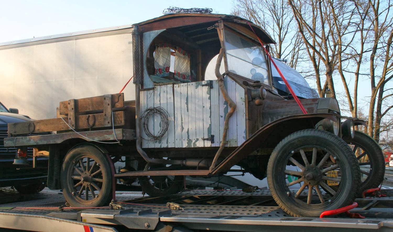 The prohibition era vehicle