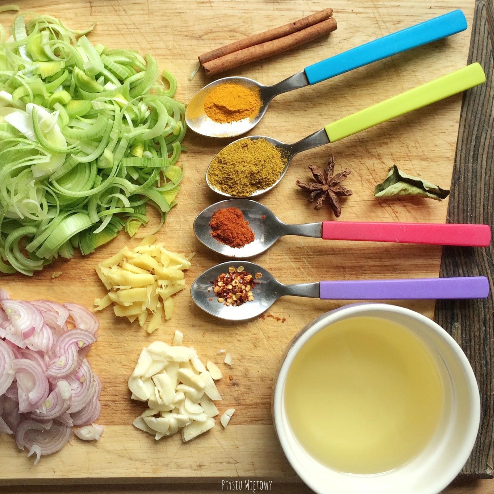 Olej Curry Ptysiu miętowy