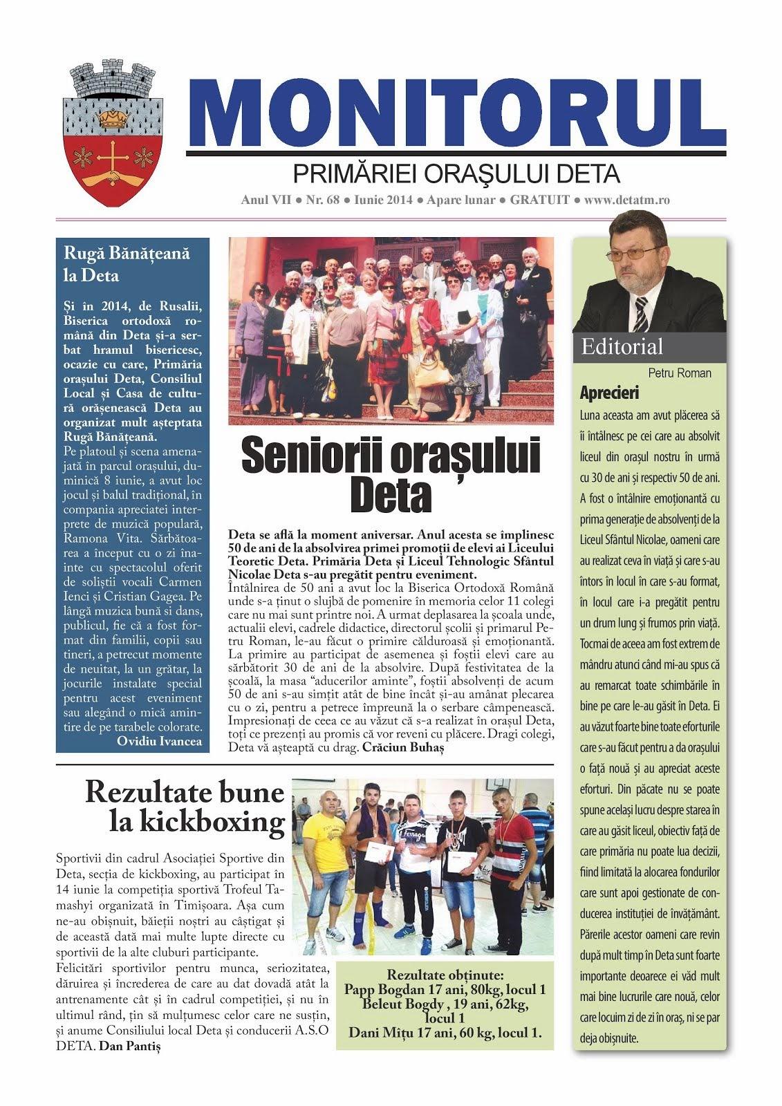 Monitorul - iunie 2014