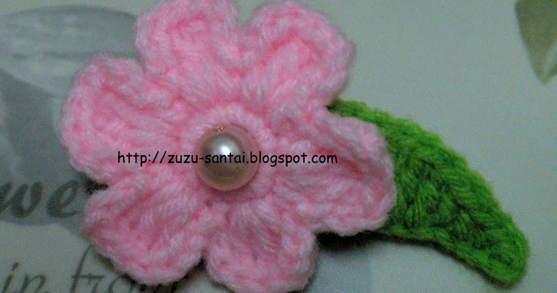 zuzu craft: Crochet Hair/Hijab Clips