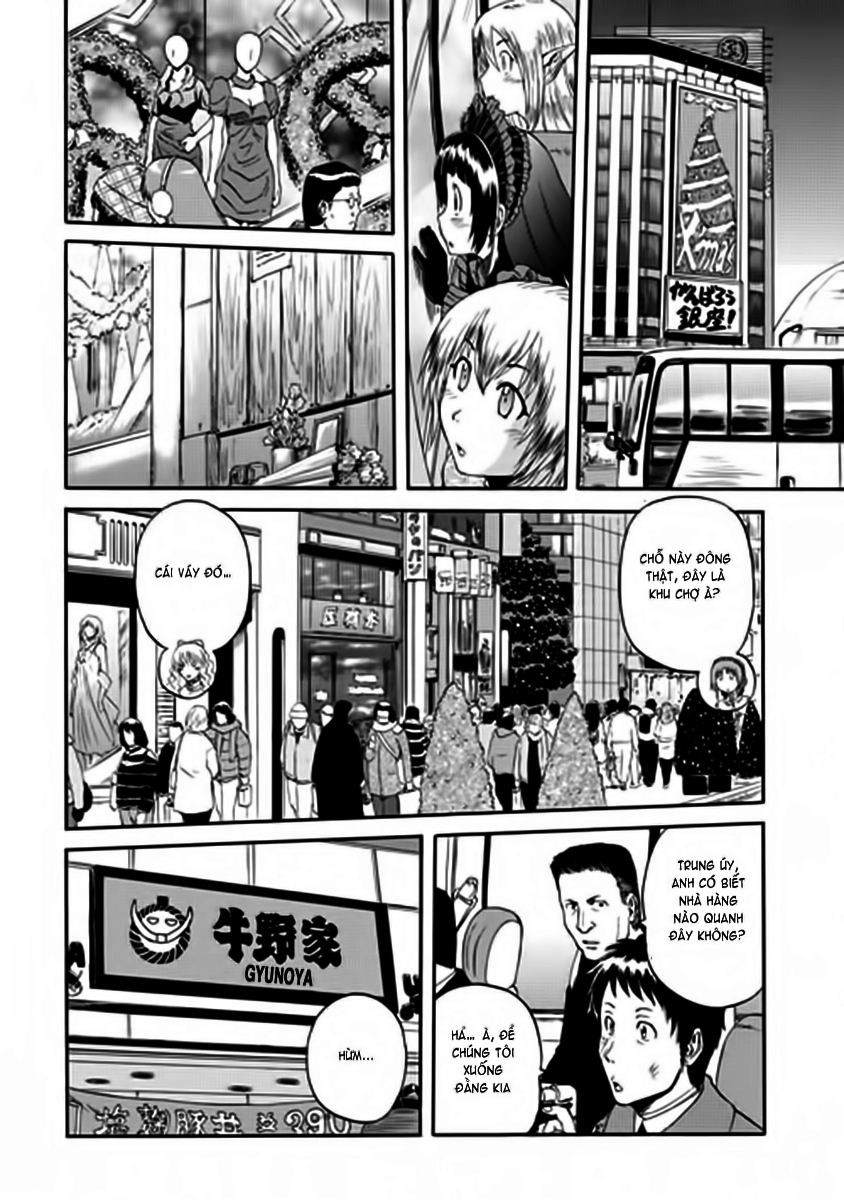 Gate – Jietai Kare no Chi nite, Kaku Tatakeri chap 17 Trang 11 - Mangak.info