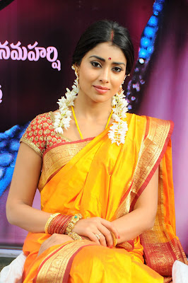 Gorgeous shriya at pavithra movie launch