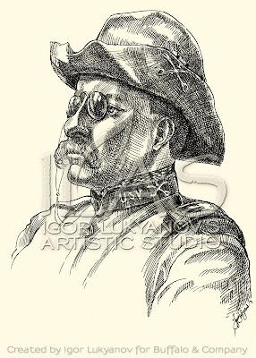 portrait de Theodore Roosevelt