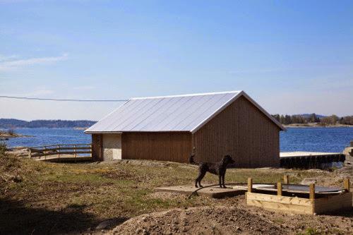 Hudøy Boat House by Snøhetta