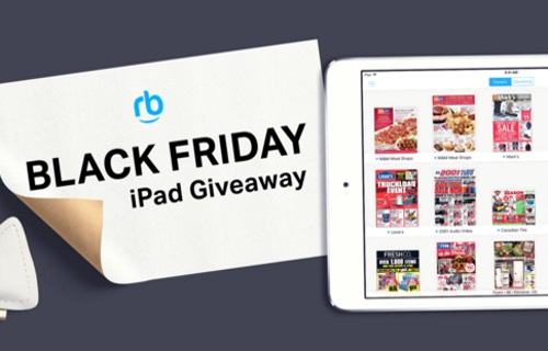 Reebee Black Friday iPad Giveaway