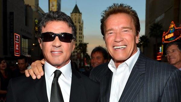 Arnold Schwarzenegger, Sylvester Stallone nyatakan sokongan untuk Israel
