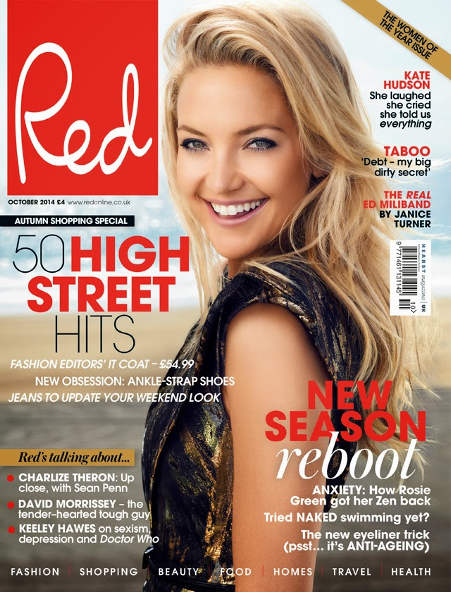 Kate Hudson Red Magazine