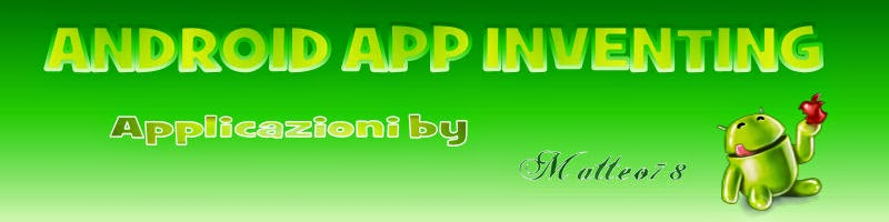 ANDROID APP INVENTING
