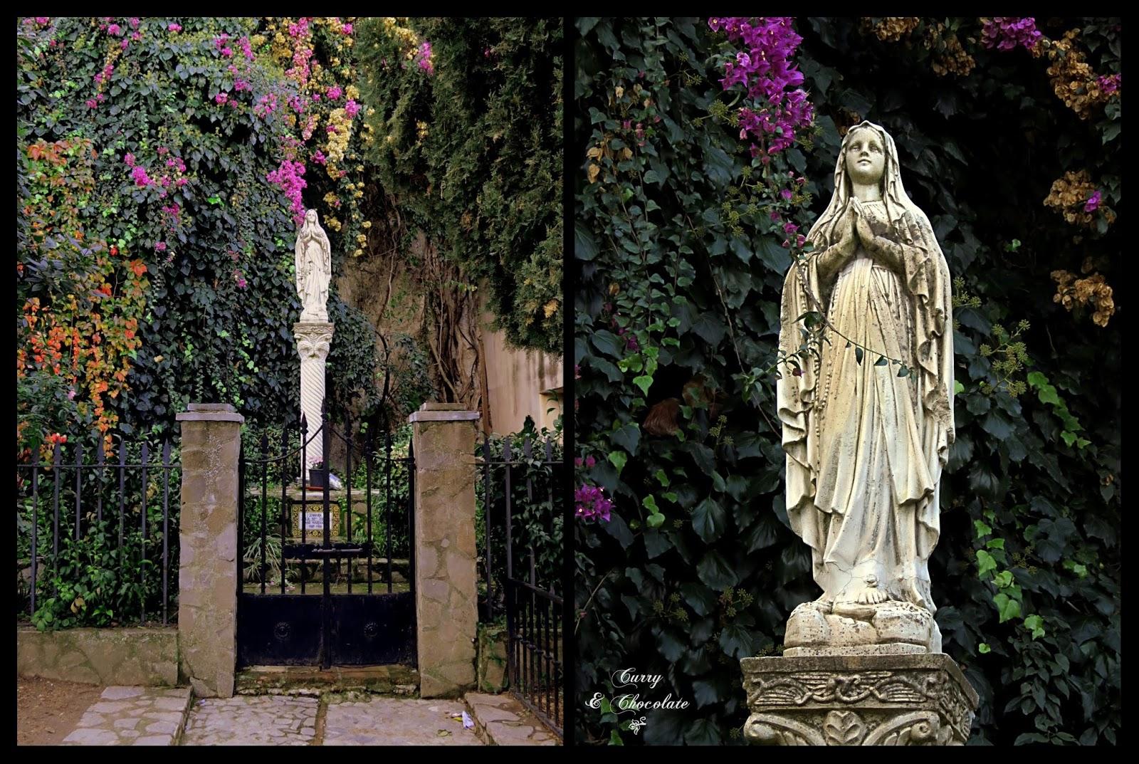 Virgen en Zahara de la Sierra
