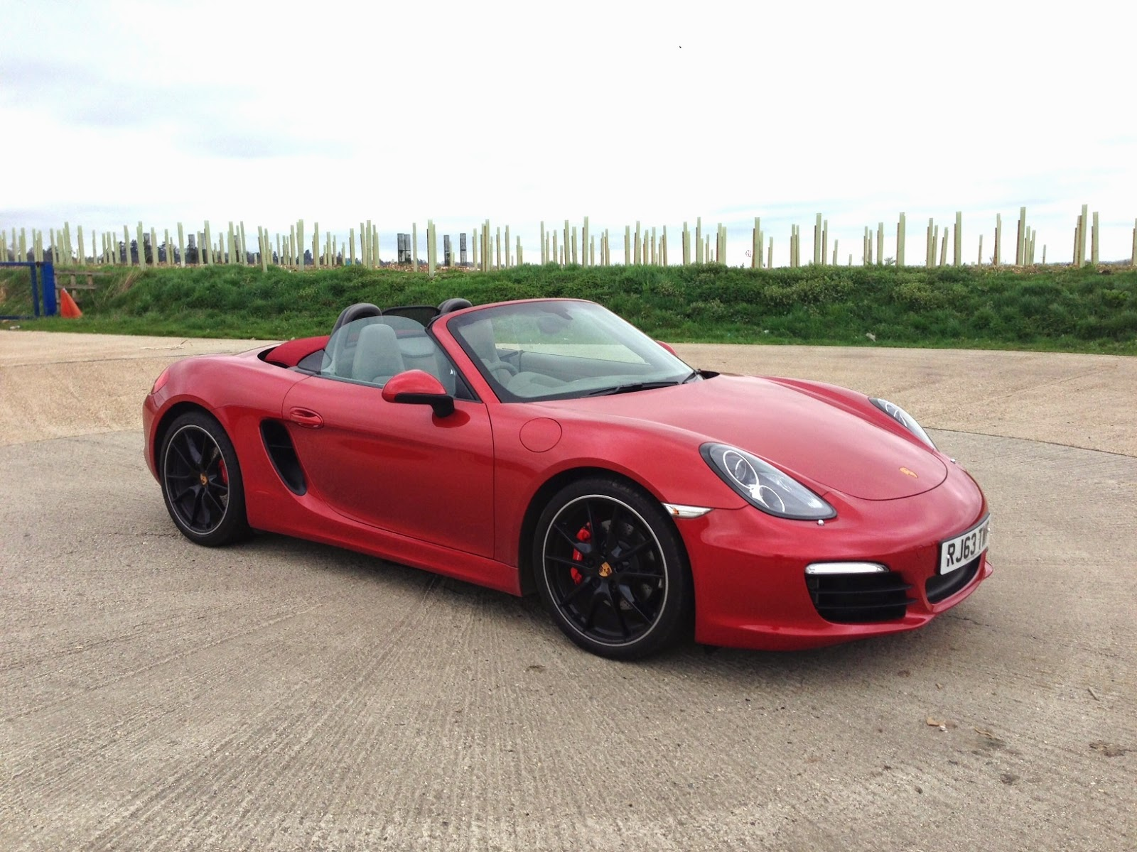 2014 Porsche Boxster S Amaranth Red