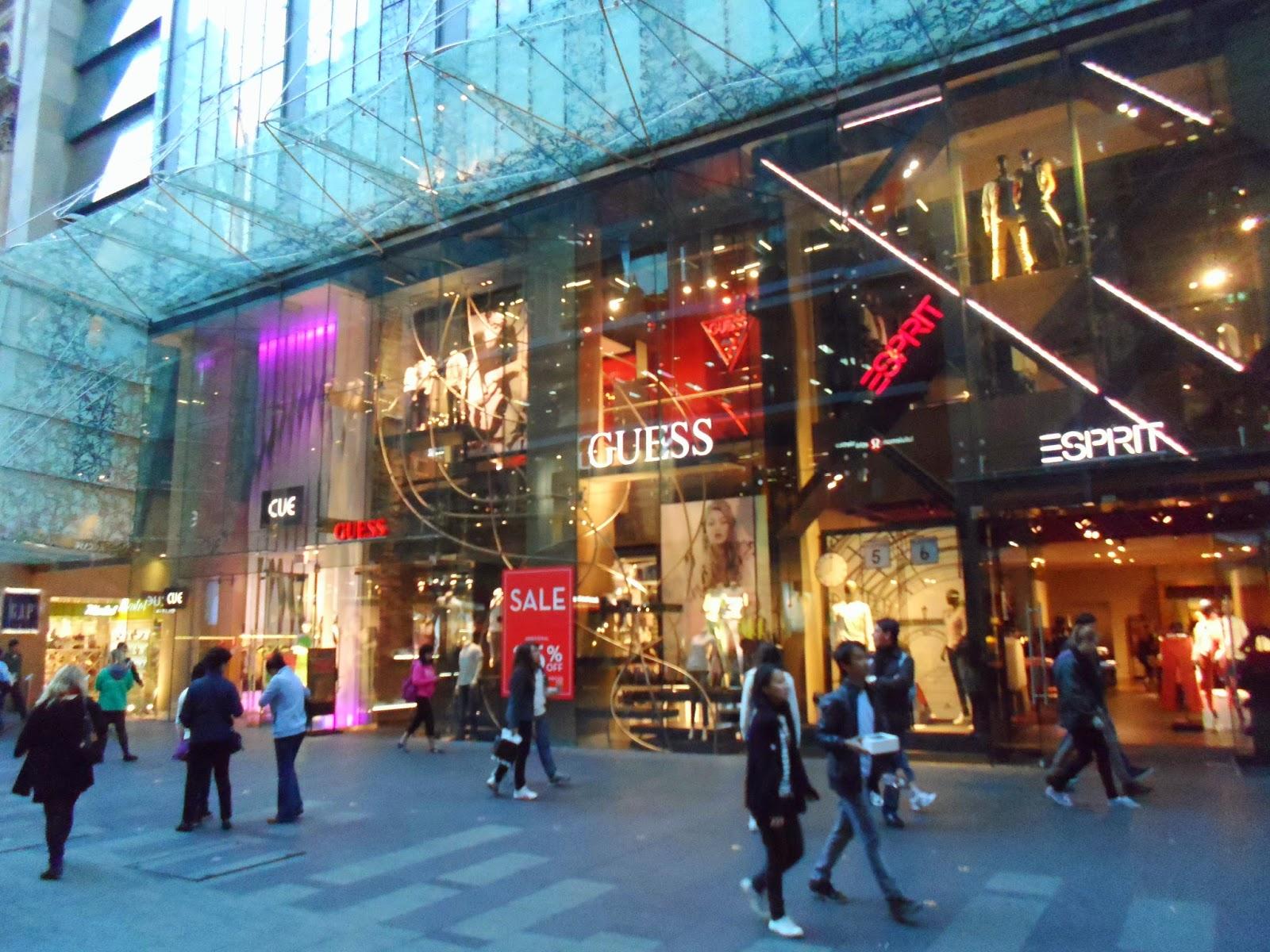 اماكن مميزة للتسوق في استراليا