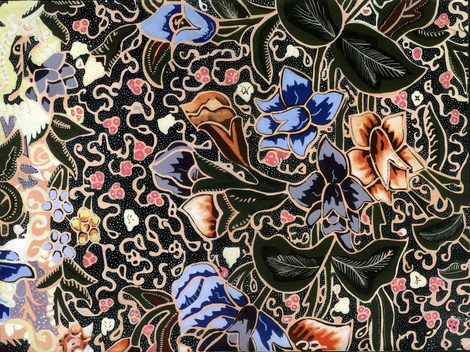 Batik Pekalongan Dengan Motif Batiknya Yang Indah