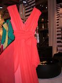 Κοκκινο σιφον φορεμα cocteil