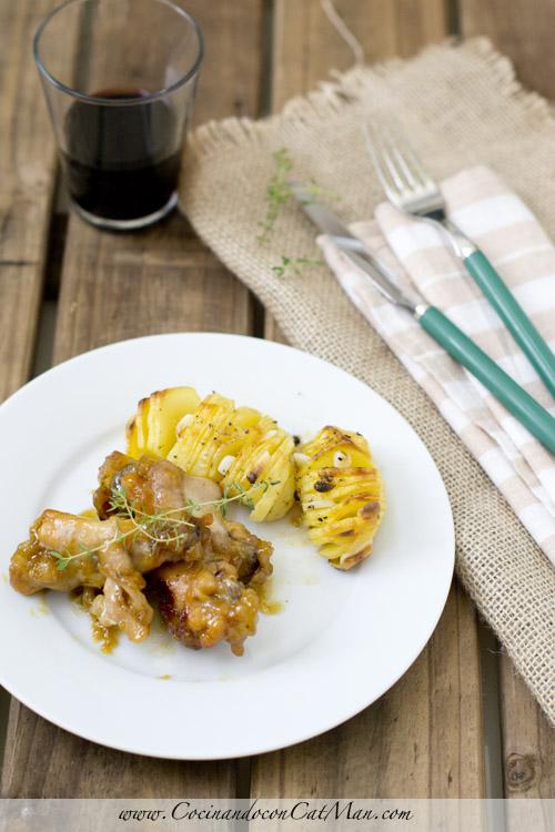receta de alitas de pollo agridulces en thermomix