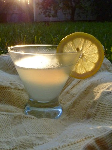 how to make a lemon drop martini with simple syrup