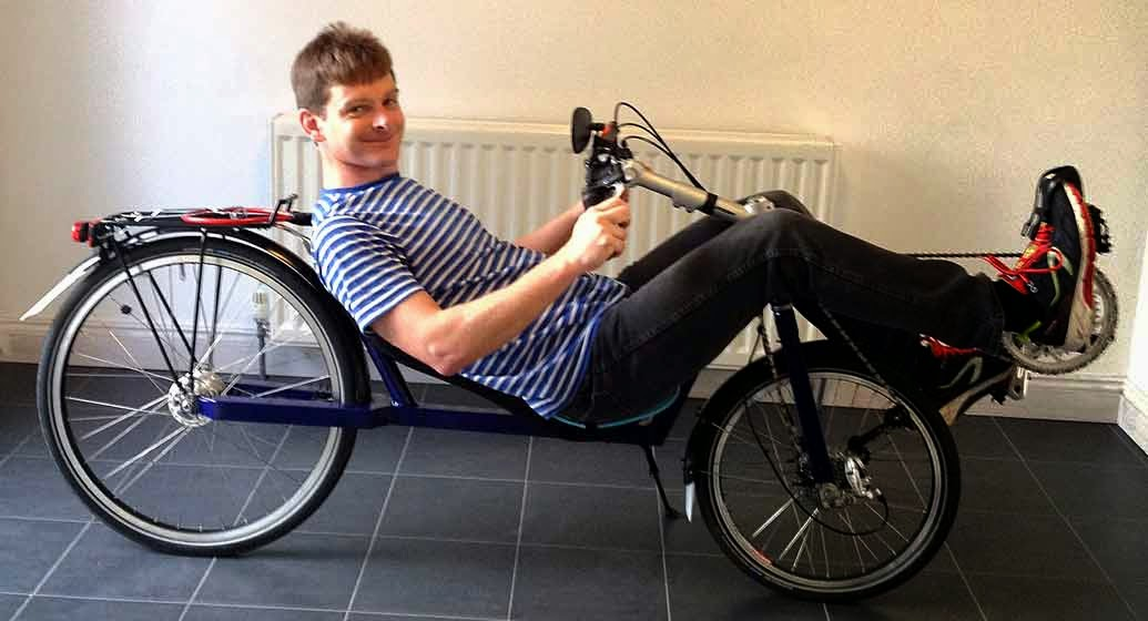 homemade recumbent lowracer