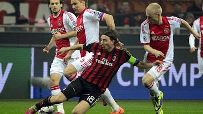 Xem lại đầy đủ trận AC Milan vs Ajax