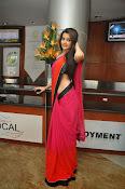 Deeksha panth sizzling saree stills-thumbnail-15