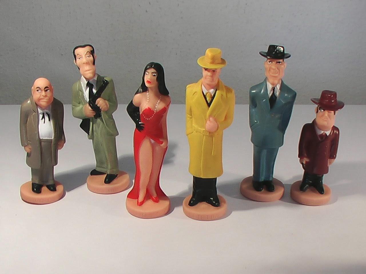 Bonequinhos dos personagens Bardahl