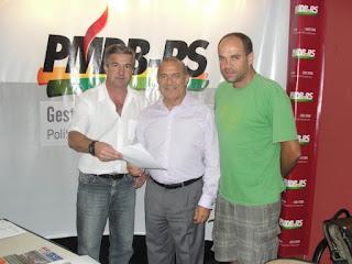 Ivan Trevisan, Eliseu Padilha e Daniel Schaefer