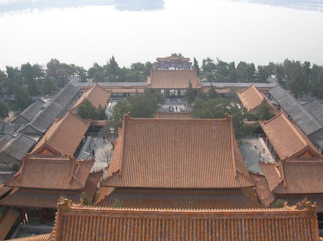 visita di pechino, il palazzo d'estate
