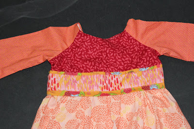 Pumpkin Pie Dress Sewing Tutorial
