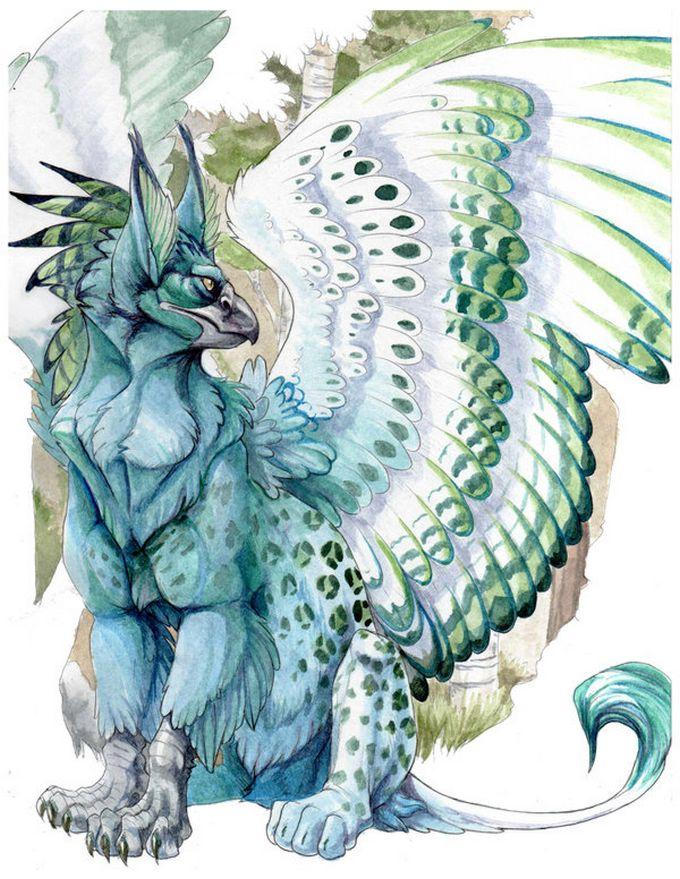 mitología de Adar Ilwch Griffin01