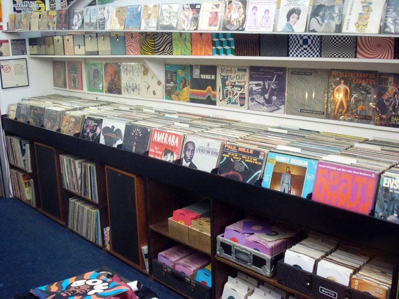 Jazzman Records New Record Shelves Build At Jazzman Hq