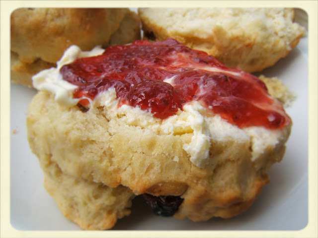 Cream Tea Queen enjoyed these scones!