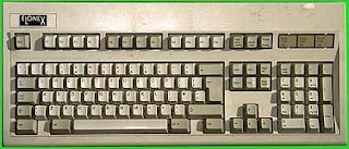 Standar keyboard QUERTY