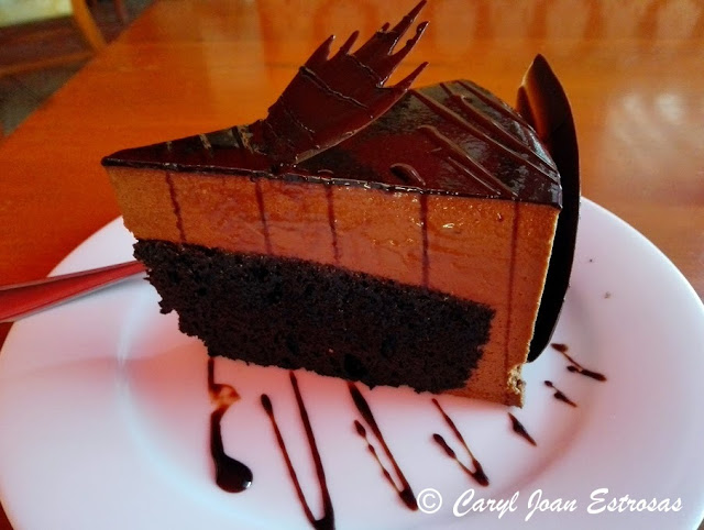 Chocolate cake @ Coffee Academy, Angeles City