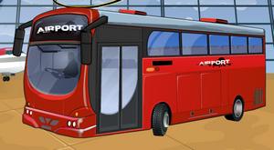 لعبة حافلة المطار