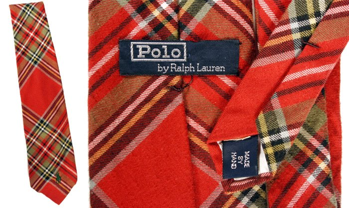 Polo red flannel