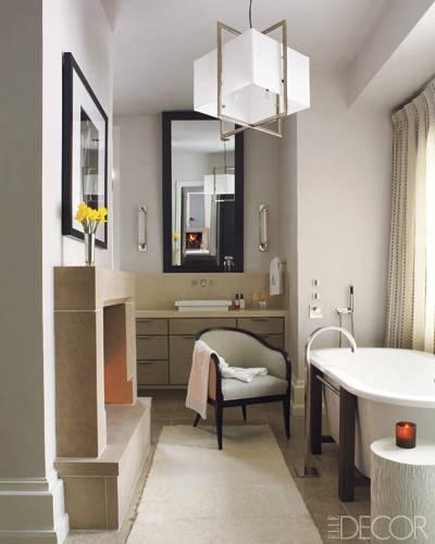 Prairie perch all aglow for Elle bathroom designs