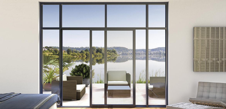 Consigli per la casa e l 39 arredamento meglio finestre in - Finestre scorrevoli in vetro ...