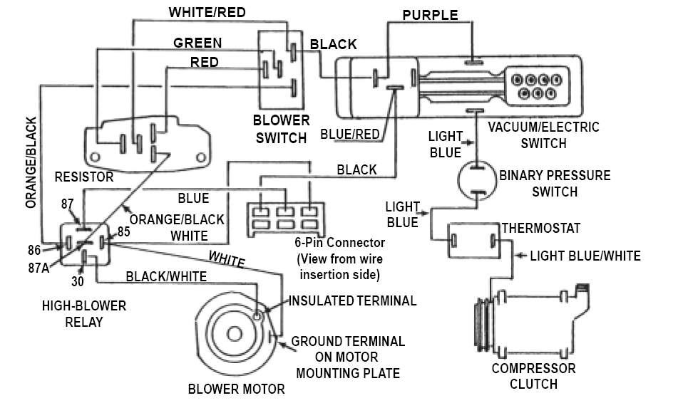 VACUUM+&+ELECTRICAL+DIAGRAMS+FOR+CLASS A+MOTORHOMES+WITH automotive heat and air conditioning system service and repair car air conditioning system wiring diagram pdf at virtualis.co