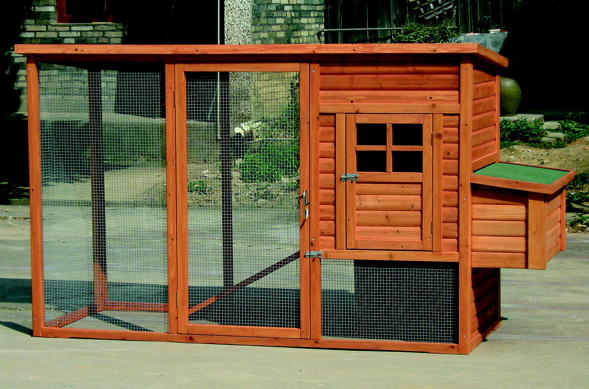 chicken coop itself which is where your chickens will sleep and lay