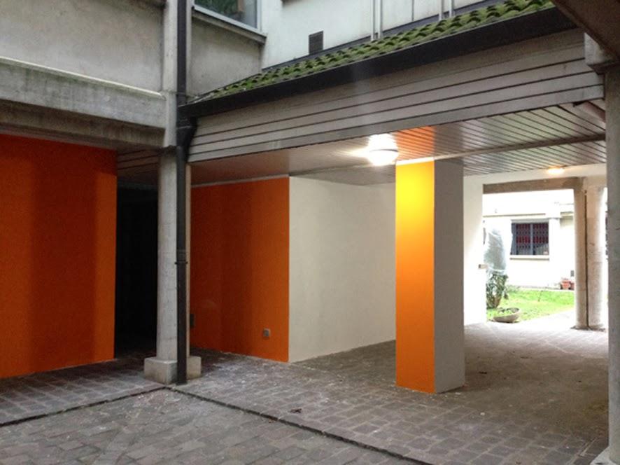 Cittadini di pescarola punti luce e muri colorati per abitare meglio - Muri di casa colorati ...