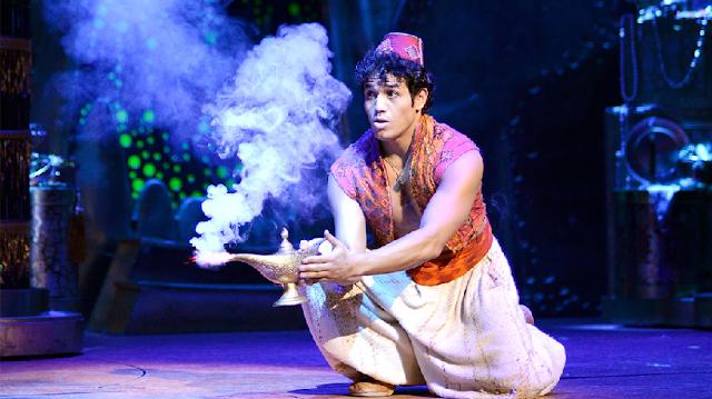 Musical Aladdin na Broadway em Nova York