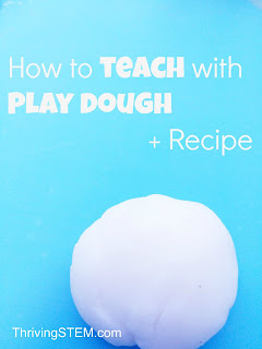 Great ideas for using play dough for learning!