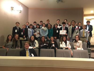 29 Montgomery Catholic Middle School Students Participate in Junior Youth Leg 1