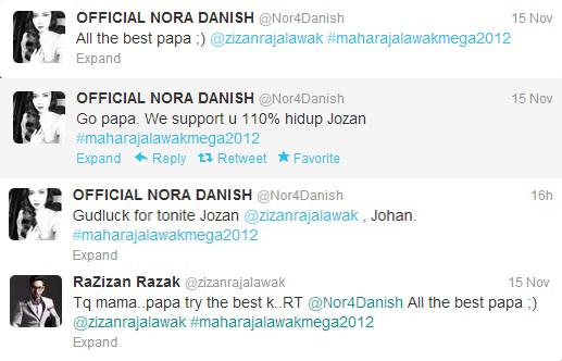 Zizan Razak Dan Nora Danish Bercinta?