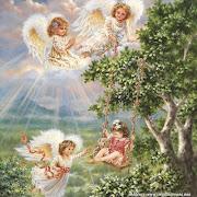 Hay varios tipos de ángeles: Los ángeles comunes fondos pantalla angeles