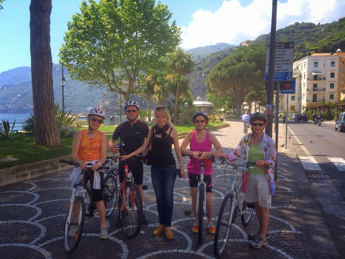 cycling amalfi coast italy