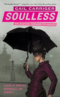Soulless by Gail Carriger book cover